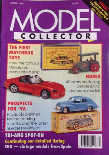 ORIGINAL MODEL COLLECTOR MAGAZINE April 1996